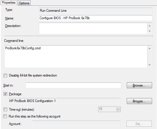 SCCM 2012 R2 – Updating and configuring HP ProBook 6470b