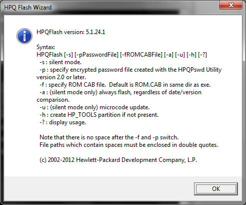 SCCM 2012 R2 – Updating and configuring HP ProBook 6470b/6570b BIOS
